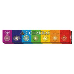 "Green Tree Incense ""7 Chakras"" 15gr."