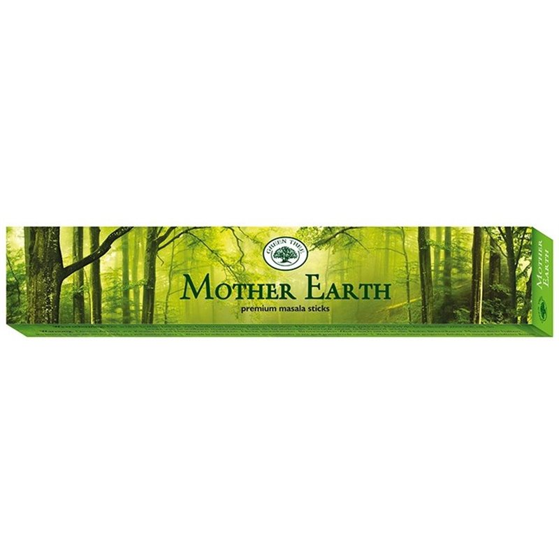 """Green Tree Incense """"Mother Earth"""" 15gr."""