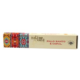 "Green Tree Native Soul Incense ""Palo Santo & Copal"" 15gr."