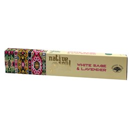 "Green Tree Native Soul Incense ""White Sage & Lavender"" 15gr."