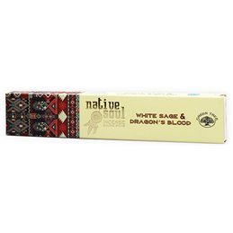 "Green Tree Native Soul Incense ""White Sage & Dragons Blood"" 15gr."